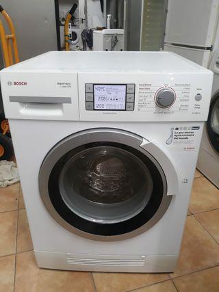 Lavadora con secadora marca Bosch 7+4 kg 1200 rpm