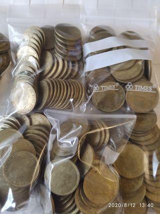 1 kg pesetas de Juan Carlos y unas pocas de franco