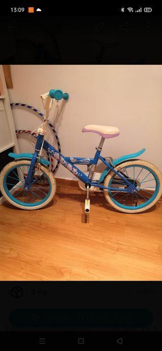 "bicicleta Frozen 16"""