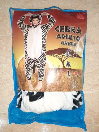 Disfraz Cebra Adulto Unisex