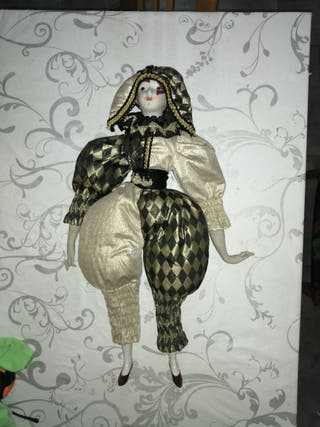 Arlequín porcelana