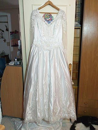 vestido de novia talla 52