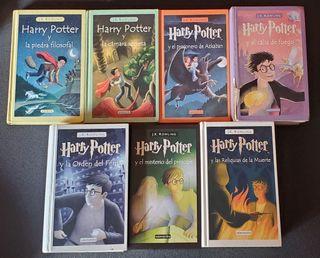 Colección completa de Harry Potter