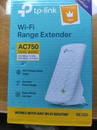 Repetidor WiFi TP-Link AC750