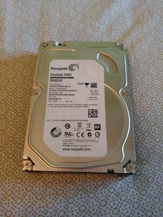 Disco duro 3 TB