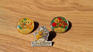 Pins Eurodisney París 1992