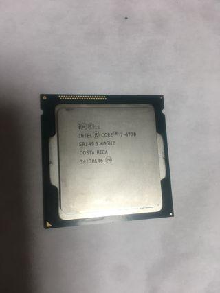 Procesador Intel Core i7 4770 3.4 GHz