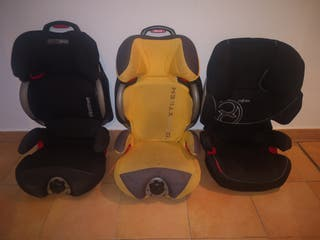sillas niño casual play (2) y Cybex (1)
