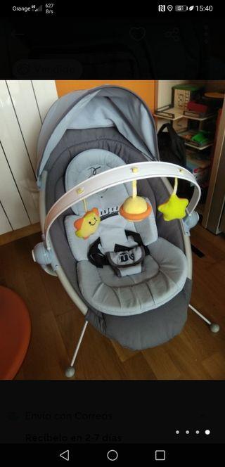 Hamaca bebé con música y vibración