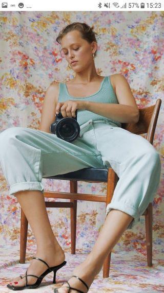Pantalón slouchy zara