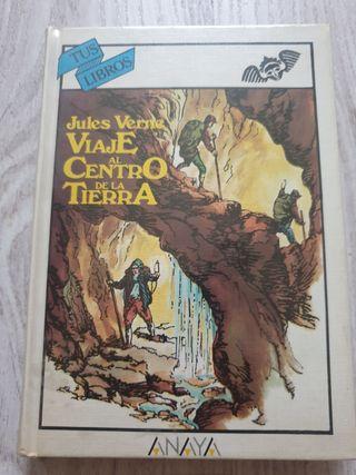 Julio Verne. Viaje al centro de la Tierrq