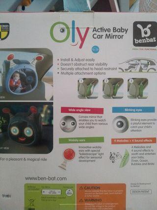 Espejo retrovisor de coche para bebé