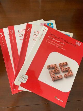 Lote de libros de lengua 3 de primaria