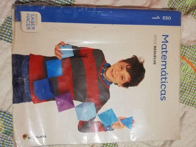 Matematicas 1°ESO ISBN: 9788468014418