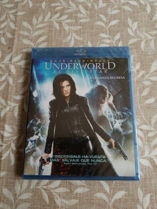 Underworld: El Despertar. Blu-Ray.