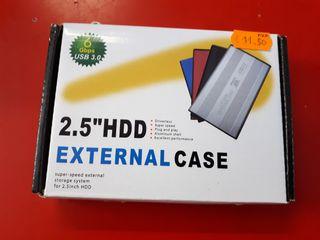 caja de disco duro 2.5 hdd