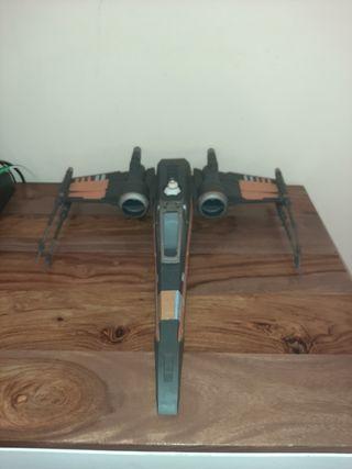 Star Wars x-wing por dameron