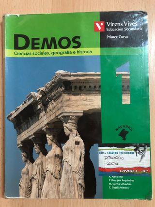 Libro 1 ESO: Ciencias Sociales/Geografia/Historia
