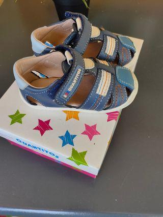 sandalia bebe talla 20