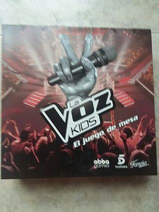 juego de mesa oficial la voz kids