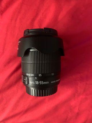 Canon 700D + baterías + pantalla abatible+ tripode