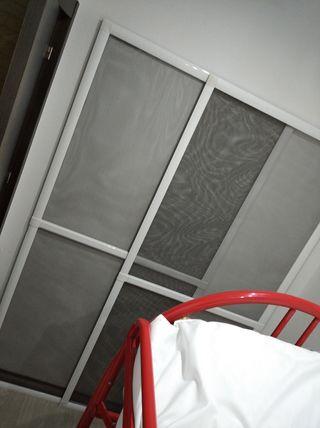 2 mosquiteras grandes para puertas correderas