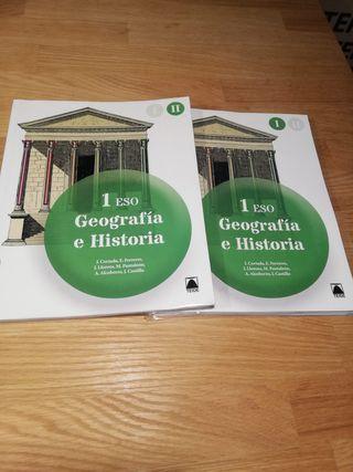 Geografía e historia 1º ESO - ISBN: 9788430790418