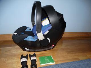 MaxiCosi silla coche Cybex Aton.COMO NUEVO en caja