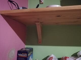 Estantes madera