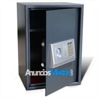 Caja fuerte digital electrónica con estante 35x31x