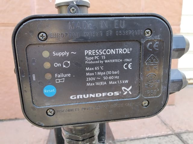 Bomba agua grupo presion