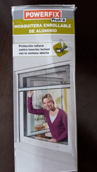 Mosquitera enrrollable ventana ajustable