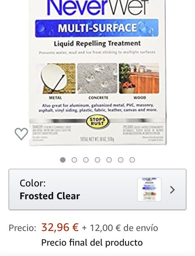 Repele líquidos -90%€ múltiples usos