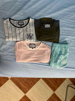 Camisetas y bañador SIKSILK
