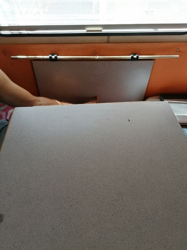Mesa plegable caravana/autocaravana
