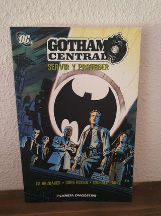 Gotham Central - Servir y proteger (DC Comics)