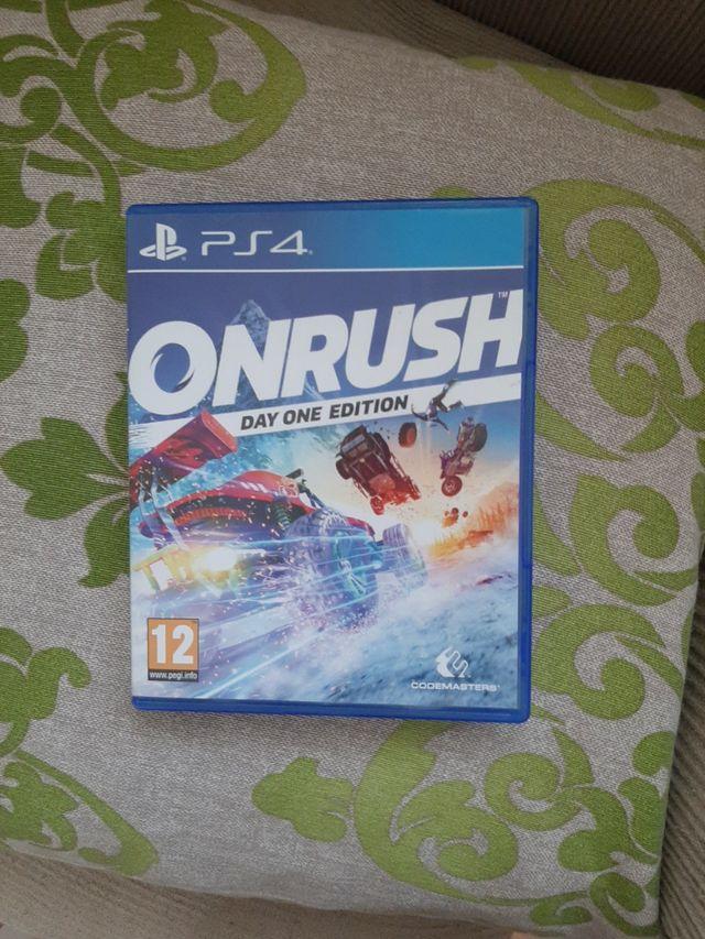 ON RUSH PS4