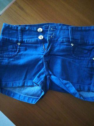Shorts azules
