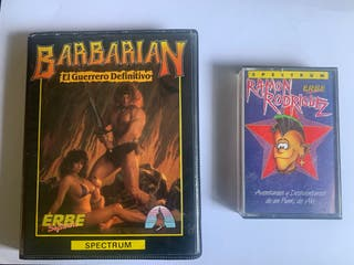 Barbarian/Ramon rodriguez spectrum