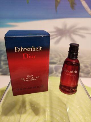 Miniatura Fahrenheit Dior