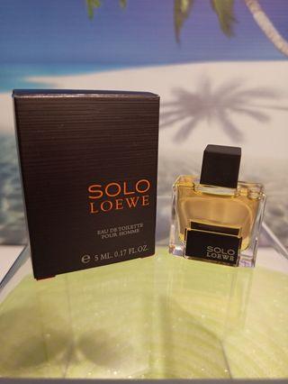 Miniatura Solo Loewe
