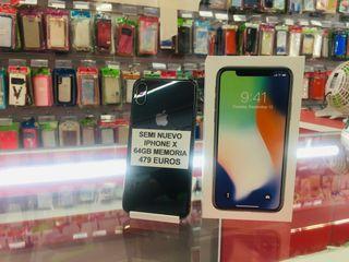 IPhone X 64Gb Semi Nuevo