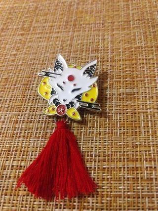 broche de zorro vintage japonés [NUEVO]