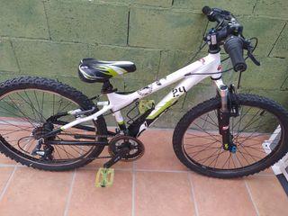 Bicicleta de montaña 21 pulgadas