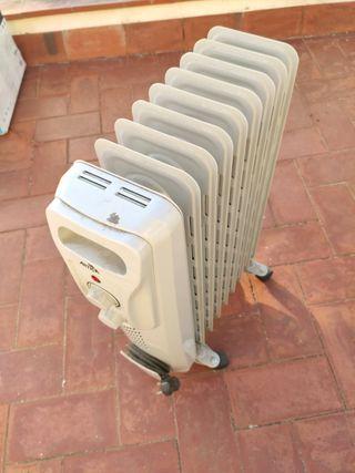 radiador con ruedas