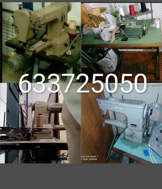 Maquina coser brazo libre y remalladora