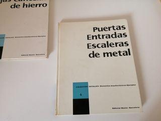 Puertas, Entradas, Escaleras de metal. Ed. Blume