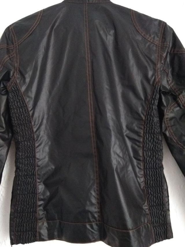 chaqueta negra para moto BELSTAFF NUEVA