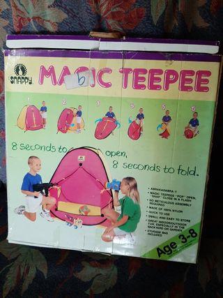 Tienda de Campaña para niños plegable