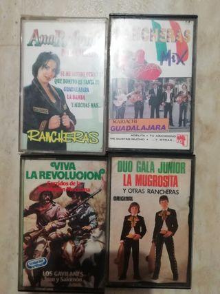 lote cassettes rancheras